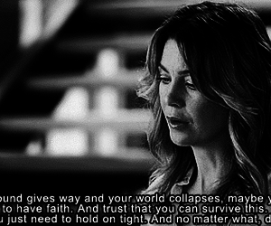 grey's anatomy, meredith grey, and quote image