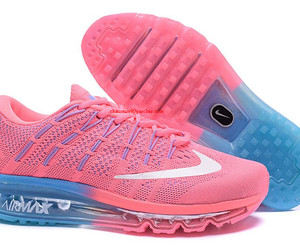 pink nike air max flyknit image