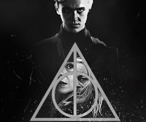 beautiful, dramione, and draco malfoy image