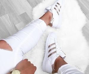 adidas and white image
