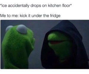 funny, kermit the frog, and subconscious image