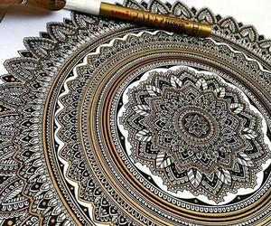 art, mandala, and amazing image