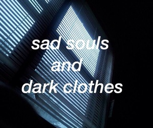 quotes, sad, and dark image