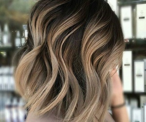 blond, curly, and highlight image