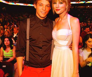 Taylor Swift, louis tomlinson, and one direction image