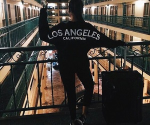 girl, fashion, and los angeles image
