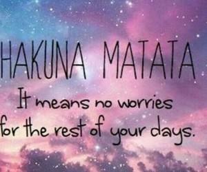 quotes and hakuna matata image