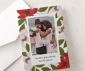 christmas, christmas card, and holidays image