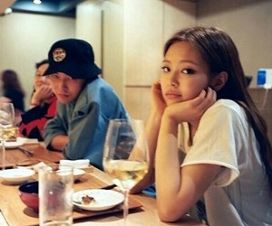 jennie, blackpink, and g-dragon image