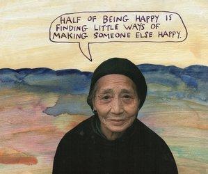 art, happy, and quote image