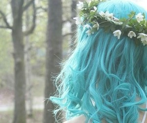 blue, pretty, and cool image