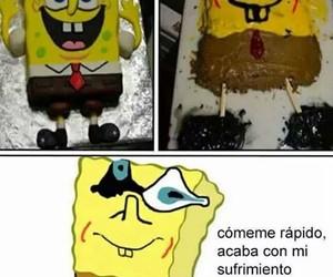 bob esponja, divertido, and fail image