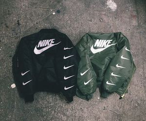 nike, fashion, and jacket image