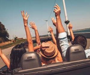 freedom, Road Trip, and fun image