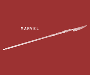 Marvel, spear, and weapons image