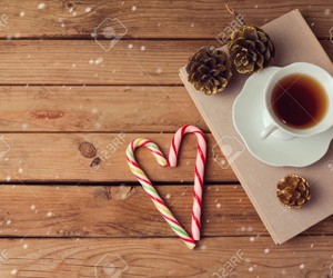 christmas, cup, and relax image