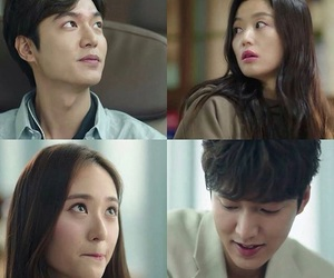 lee min ho, kdrama, and krystal image