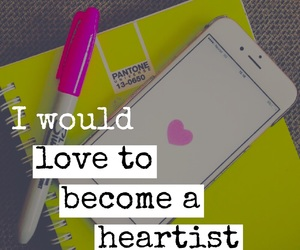 we heart it and heartist image