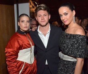 katy perry, halsey, and niall horan image