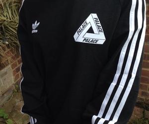 adidas, palace, and black image