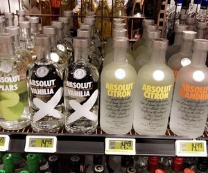 absolut, drink, and peach image