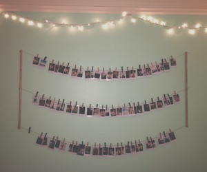 fairylights, picture, and polaroid image