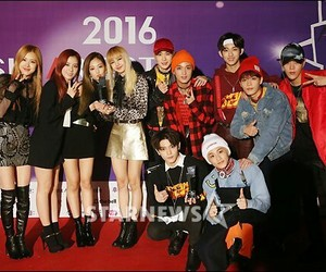 blackpink, kpop, and nct image
