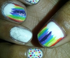 nails, ongle, and :) image