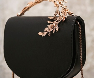 bag, black, and style image