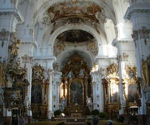 beautiful, church, and gold image