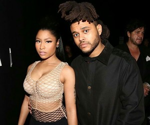 nicki minaj and the weeknd image