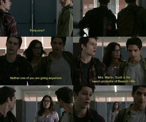 bromance, sciles, and teen wolf image