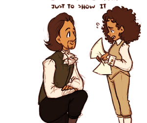 alexander hamilton, musical, and take a break image