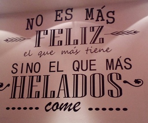 frases, ice cream, and verdades image