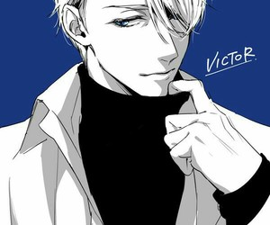 yuri on ice, victor, and anime image