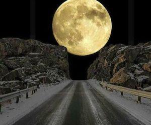 moon, tenerife, and supermoon image