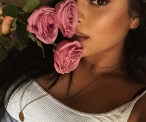 flowers, latina, and mexican image