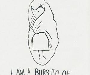 burrito, sadness, and sad image