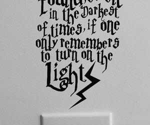 quotes, light, and harry potter image