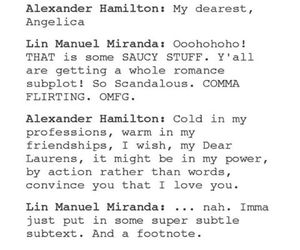 angelica, hamilton, and tumblr image