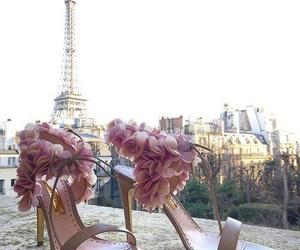fashion, flowers, and paris image