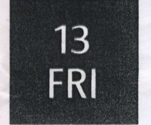 13, friday, and 13th image