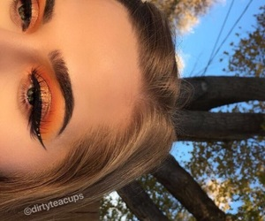 girls, cute, and makeup image
