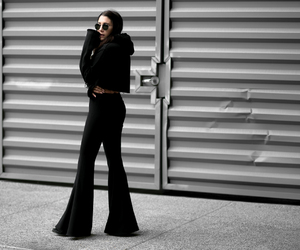 bell bottoms, fashion blogger, and abo image