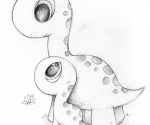 animals, dinosaurs, and drawings image