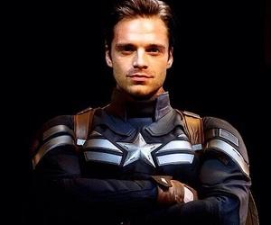Marvel, captain america, and bucky barnes image