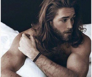 bearded, man, and sexy image