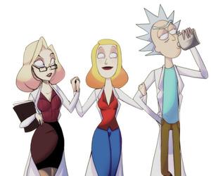 family, rick, and rick sanchez image