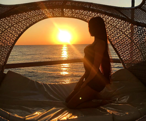 girl, playa, and summer image