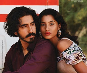 Dev Patel and imaan hammam image